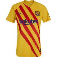 Camisa Barcelona El Classico 19/20 Nike - Feminina - Amarelo