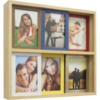 Porta Retrato Slide 6 Fotos Colorido