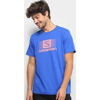 Camiseta Salomon Ss Ii Masculina - Masculino