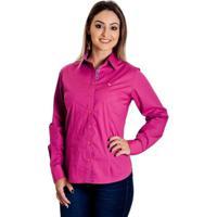 Camisa Pimenta Rosada Malia - Feminino-Roxo