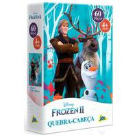 Quebra-Cabeça Frozen 2 Kristoff E Sven 60 Peças - Toyster