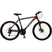 Bicicleta Aro 26 Simera 24V Freios A Disco Alumínio Shimano - Unissex