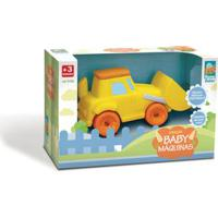 Coleção Baby - Máquina Amarelo - Roma Jensen