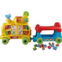 Andador Infantil Vtech 80-076620 Trem Alfabeto Com Som E Luz Colorido