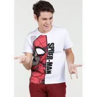 Camiseta Juvenil Homem Aranha Manga Curta Marvel
