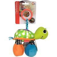 Mobile Com Espelho Infantino Tartaruga Verde - Tricae