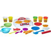 Conjunto Play-Doh - Criações No Fogão - Hasbro - Unissex-Incolor