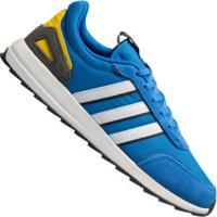 Tênis Adidas Retrô Run Classic - Masculino - Azul/Branco