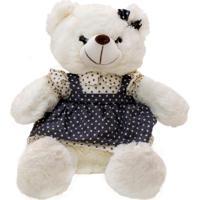 Pelúcia Minas De Presentes Urso Branco - Kanui