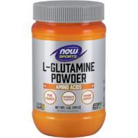 L-Glutamine Powder Now Sports - 454G - Unissex