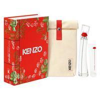 Kit Perfume Kenzo Flower By Kenzo Eau De Parfum + Body Milk + Pouch | Kenzo | 50Ml