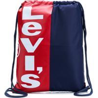 Levi'S Kids Mochila Com Logo Contrastante - Azul