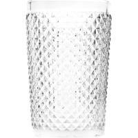 Conjunto 6 Copos Altos De Vidro Bico De Jaca 355Ml – Linha Transparente