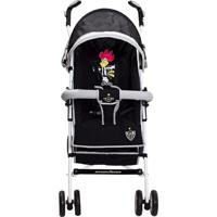 Carrinho De Bebê Guarda Chuva Times Naskinha - Masculino-Preto