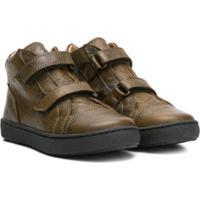 Pépé Kids Touch Strap Ankle Boots - Verde