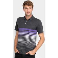 Camisa Polo Oakley Iridium Fade Masculina - Masculino-Roxo