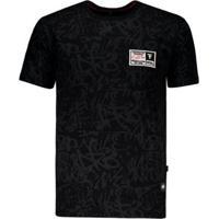 Camiseta Fatal Especial Masculina - Masculino-Preto