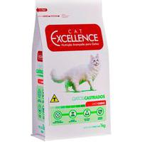 Ração Para Gatos Castrados Cat Excellence Sabor Carne 1Kg