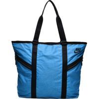 Bolsa Tote Nike Azeda Premium Azul/Preta