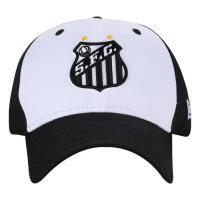 Boné Aba Curva Do Santos New Era 940 Hp - Snapback - Adulto - Preto  49137ece358