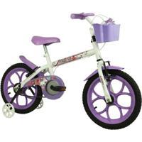 Bicicleta Track & Bikes Aro 16 Pinky - Feminino
