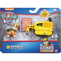 Figura E Mini Veículo - Patrulha Canina - Resgate Extremo - Rumble & Mini Jackhammer - Sunny