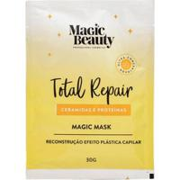 Máscara Capilar Sachê Magic Beauty Total Repair 30G - Unissex-Incolor