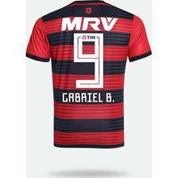 Netshoes  Camisa Flamengo I 2018 N° 9 Gabriel B. - Torcedor Adidas Masculina  - Masculino b1d5a34ca0f30