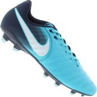 b3961a8410 Chuteira De Campo Nike Tiempo Ligera Iv Fg - Adulto - Azul Cla Azul Esc