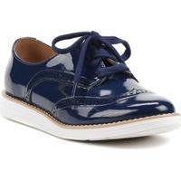 Sapato Oxford Feminino Vizzano Azul Marinho - Feminino