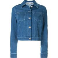 Stella Mccartney Jaqueta Jeans - Azul