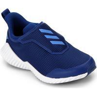 Tênis Infantil Adidas Fortarun Ac K Sem Cadarço - Unissex-Azul Royal