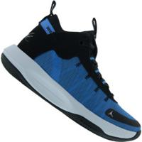Tênis Cano Alto Nike Jordan Jumpman 2020 - Masculino - Azul/Preto
