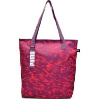 Bolsa Puma Styfr-Core Active Shopper Roxa