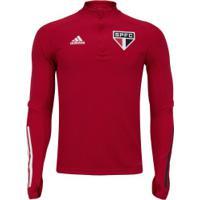 Blusão De Treino Do São Paulo 2020 Adidas - Masculina - Vermelho