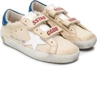 Golden Goose Kids Old School Sneakers - Neutro