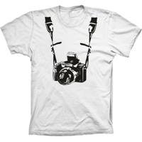 Camiseta Baby Look Lu Geek Fotógrafo Branco