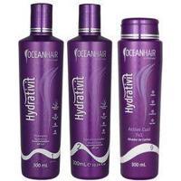 Kit Hidratação Nutritivo Modelador Hydrativit Ocean Hair