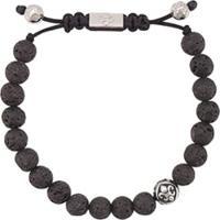 Nialaya Jewelry Pulseira De Contas - Preto