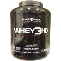 Whey Protein 3Hd 1,8Kg - Black Skull - Unissex