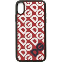 Dolce & Gabbana Case Para Iphone Xs - Vermelho