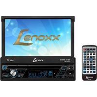 """Dvd Player Automotivo Lenoxx Sound Ad 2677 Com Tv Digital, Tela Touch Retrátil De 7"""", Rádio Am/Fm, Entradas Usb, Sd E Auxiliar + Controle Remoto"""