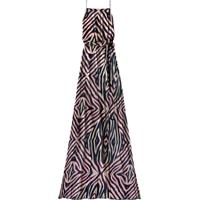 Vestido Longo Estampado Tiras Pink Safari - Lez A Lez