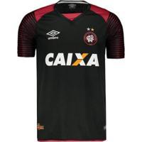 Netshoes  Camisa Umbro Athletico Paranaense Goleiro 2017 N°12 Weverton  Masculina - Masculino c17175590585f