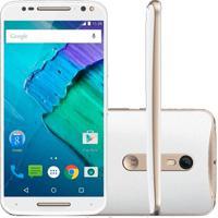 "Smartphone Moto X Style Xt1572 - Branco - 32Gb - Dual-Chip - 4G - 21Mp - Tela 5.7"" - Android 5.1"