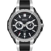Relógio Orient Masculino Cronógrafo Preto Mtssc041 P1Sp