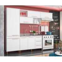 Cozinha Completa Hibisco 9 Pt 5 Gv Branco