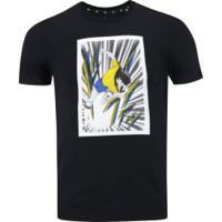 Camiseta Tsubasa Brasil Adidas - Masculina - Preto