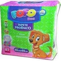 Tapete Higienico Fofo Pads Para Cães Com 07 Unidadades