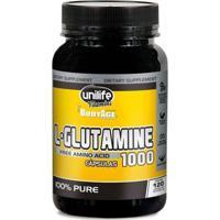 L-Glutamine 1000Mg - 120 Cápsulas - Unilife - Unissex